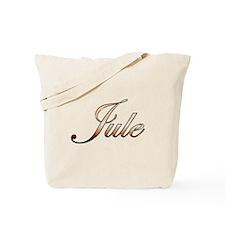 Gold Jule Tote Bag