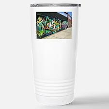 Bushwick Graffiti Stainless Steel Travel Mug