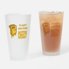 Being Cheesy Drinking Glass