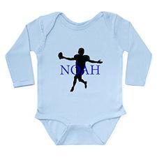 Cute Noah Long Sleeve Infant Bodysuit