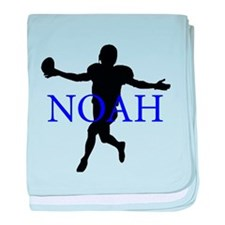 Funny Noah baby blanket