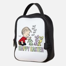 Happy Easter Linus Neoprene Lunch Bag