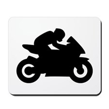 Motorcycle racing Mousepad
