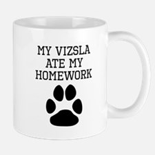 My Vizsla Ate My Homework Mugs