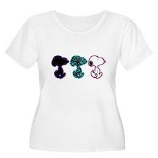 Snoopy Silhou T-Shirt