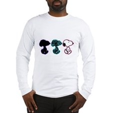 Snoopy Silhouette Long Sleeve T-Shirt