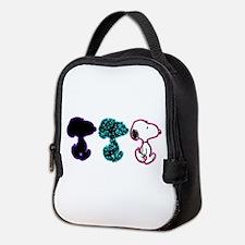 Snoopy Silhouette Neoprene Lunch Bag