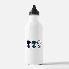 Snoopy Silhouette Water Bottle