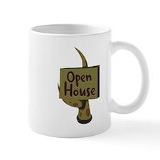 Open House Sign Mugs