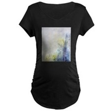 Affable Blue Maternity T-Shirt