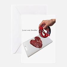 Valentines- Love me Tender 2 Greeting Card