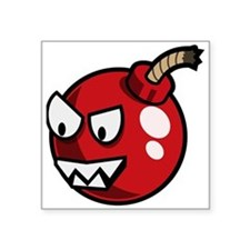 Cartoon Cherry Bomb Sticker