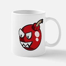Cartoon Cherry Bomb Mugs
