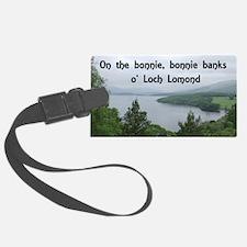 Loch Lomond, Scotland Luggage Tag
