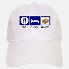 Eat, Sleep, Weave Baseball Baseball Cap