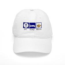 Eat, Sleep, Weave Baseball Cap