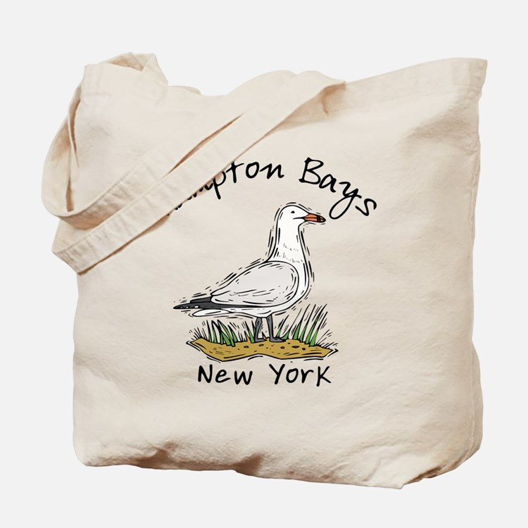 Hampton Bays NY Tote Bag