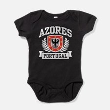 Funny Flag of portugal Baby Bodysuit