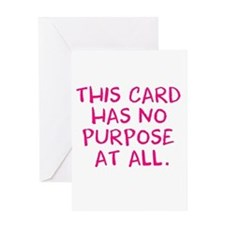 Pointless Card Greeting Cards