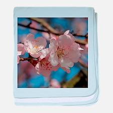 Almond blossom 002 baby blanket