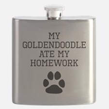 My Goldendoodle Ate My Homework Flask