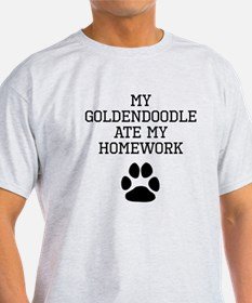My Goldendoodle Ate My Homework T-Shirt
