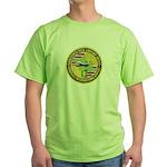 Honolulu PD Airport Detail Green T-Shirt