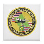 Honolulu PD Airport Detail Tile Coaster