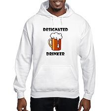 DESIGNATED DRINKER Hoodie Sweatshirt