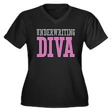 Underwriting DIVA Plus Size T-Shirt