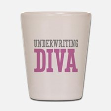 Underwriting DIVA Shot Glass