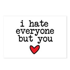 Hate Everyone Postcards (Package of 8)