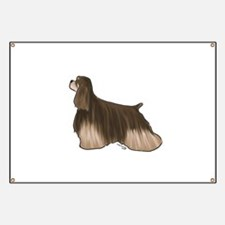 american cocker spaniel chocolate and tan Banner