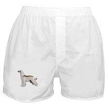 afghan hound Boxer Shorts