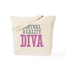 Virtual Reality DIVA Tote Bag