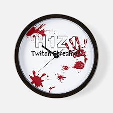 H1Z1 Twitch Streamer! Wall Clock