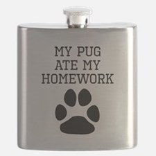 My Pug Ate My Homework Flask