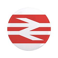 "British Rail Logo 3.5"" Button (100 pack)"