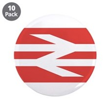 "British Rail Logo 3.5"" Button (10 pack)"