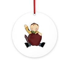 Teacher's Pet Ornament (Round)