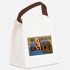 My Dog Has Fleas Canvas Lunch Bag