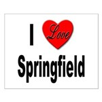 I Love Springfield Small Poster