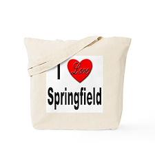 I Love Springfield Tote Bag