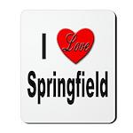 I Love Springfield Mousepad