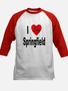 I Love Springfield (Front) Tee