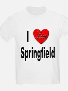 I Love Springfield (Front) T-Shirt
