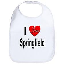 I Love Springfield Bib