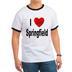 I Love Springfield (Front) Ringer T