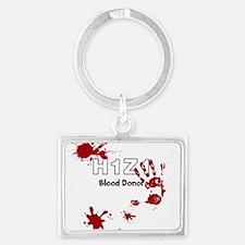 H1Z1 Blood Donor. Keychains
