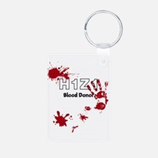 H1Z1 Blood Donor. Keychains